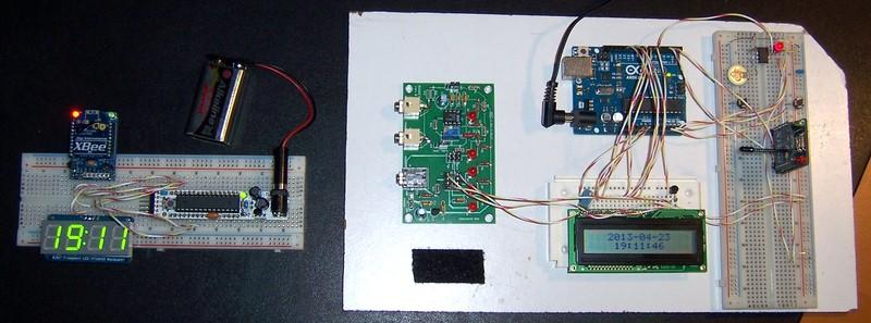 Precision arduino clock